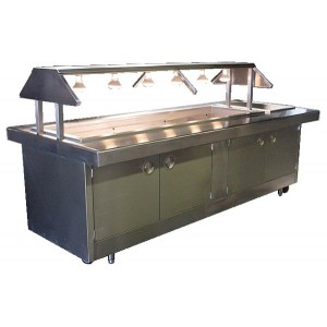 Buffet Style Steam Tables